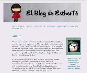 El Blog de Esther Tê