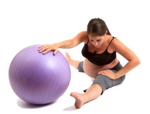 Practica pilates durante el embarazo