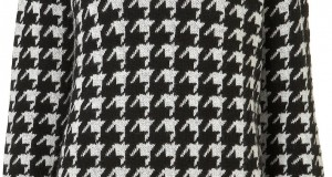 La tendencia pata de gallo o houndstooth