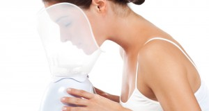 Saunas faciales para el acné