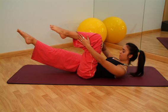 Hacer yoga en casa