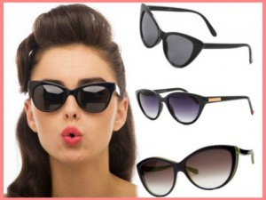 gafas de sol estilo cat-eye