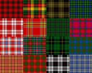 Complementos de moda cuadros escoceses
