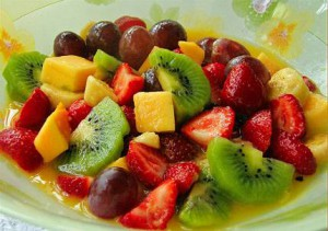 Dietas desayuna fruta