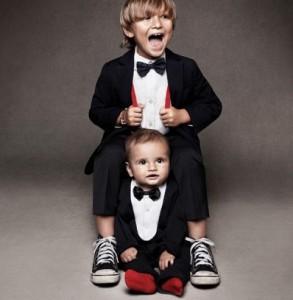 Ropa de niños sin estilo